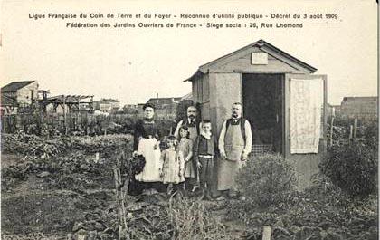 Histoire for Au jardin de la famille de fabreville